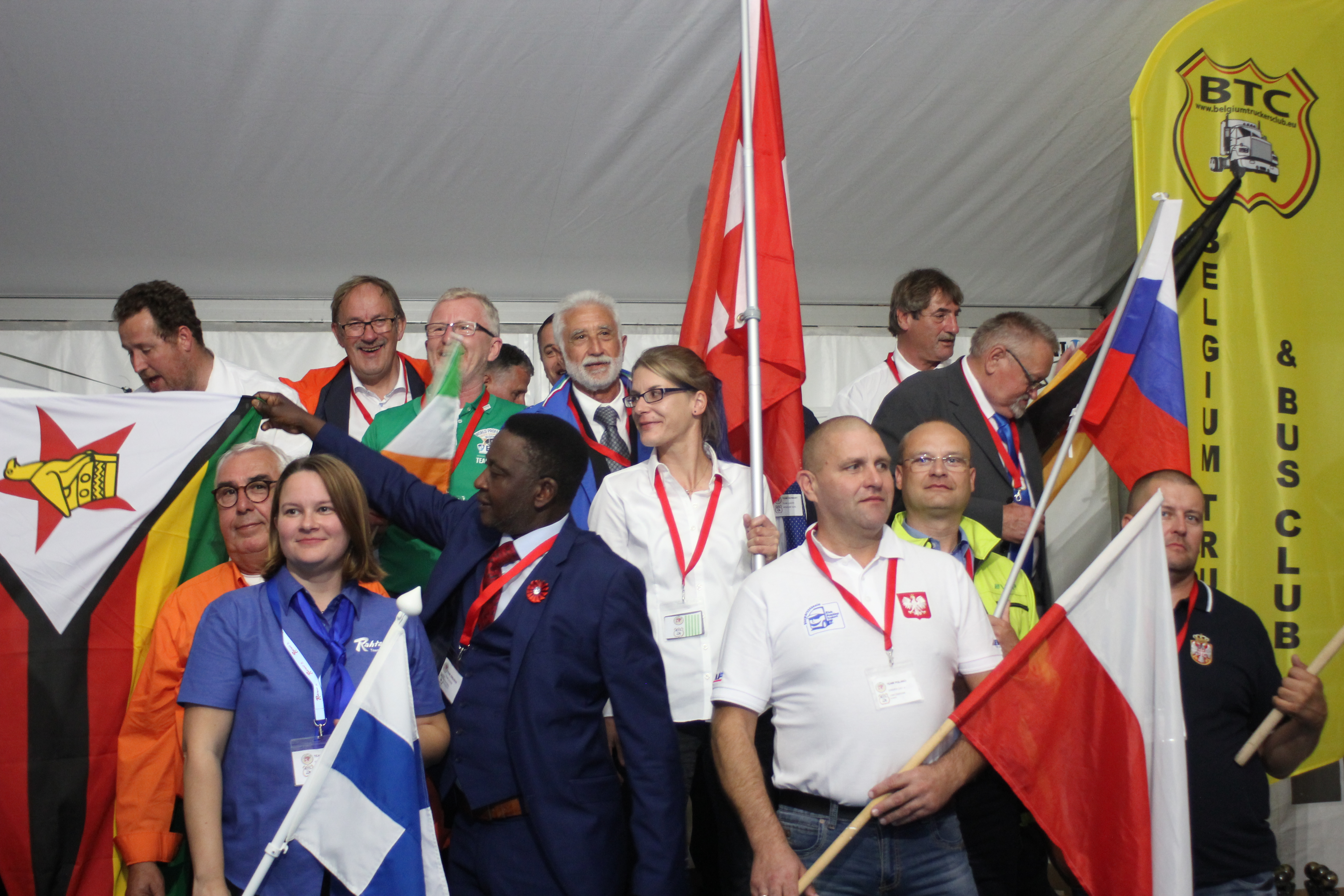 Awards Ceramony for World Professional Driver Championships